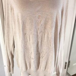 TORRID size 3 skull sweater. Dry Cleaned